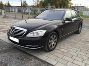 Встреча из роддома на Mercedes-Benz S-Class W221 Long в Астане,  S65 AM