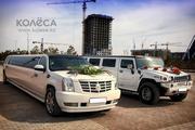 Лимузин Cadillac Escalade в Астане.