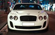 Bentley Continental Flying Spur в Астане.